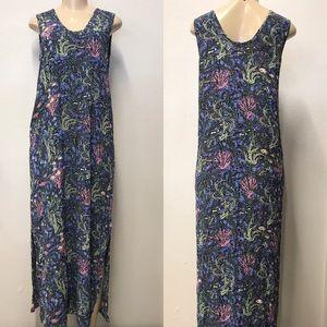 Flax See life print maxi dress